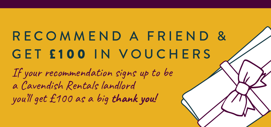 We want everyone to know about the great service we offer at Cavendish Rentals so we are offering a little incentive