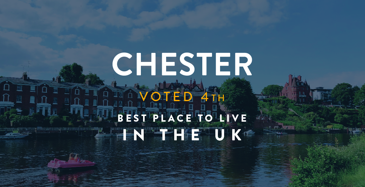 Chester voted as one of the Top Places to Live 2019